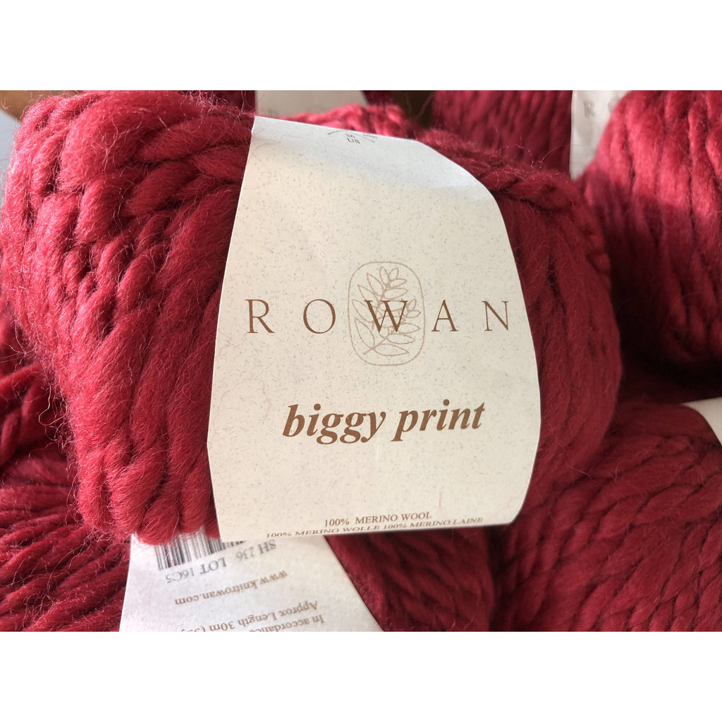 Ten (10) Skeins Rowan Biggy Print Yarn - Fetish 236 - Super Bulky (DISCONTINUED) - Shoptinkknit