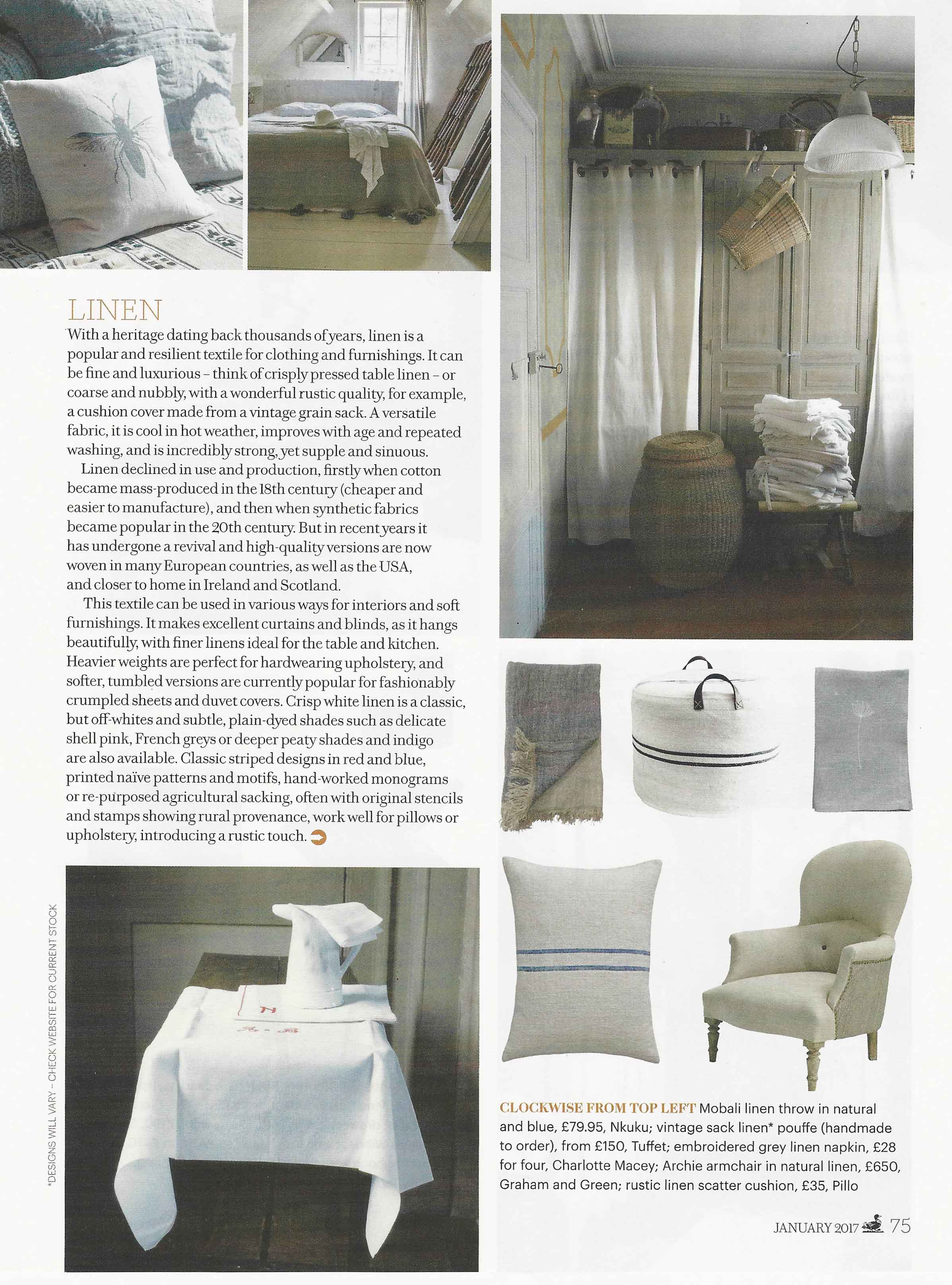 Pillo in Country Living - Press