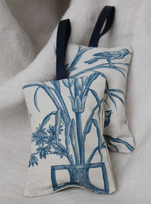 Blue and White Toile Lavender Pad Image 2