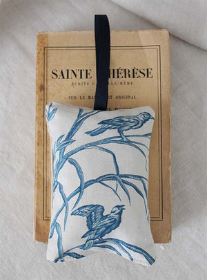Blue and White Toile Lavender Pad Image 3