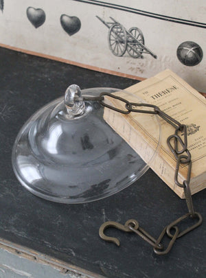 Glass Candle Bell