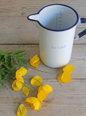 Enamel Measuring Jug