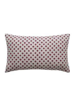 Petite Etoile French Raspberry Scatter Cushion