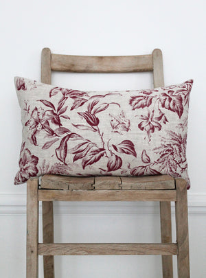Floraison French Raspberry Scatter Cushion
