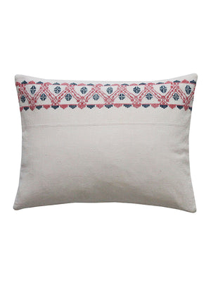 Folky Embroidered Scatter Cushion Cutout
