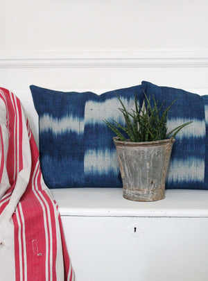 Ikat Hemp Cushions