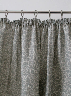 Summer Lea Manoir Grey - Natural Linen