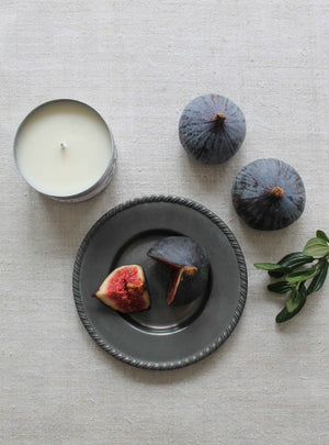 Mediterranean Fig Travel Tin Candle
