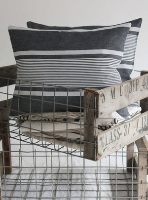 Mono Stripe Scatter Cushions