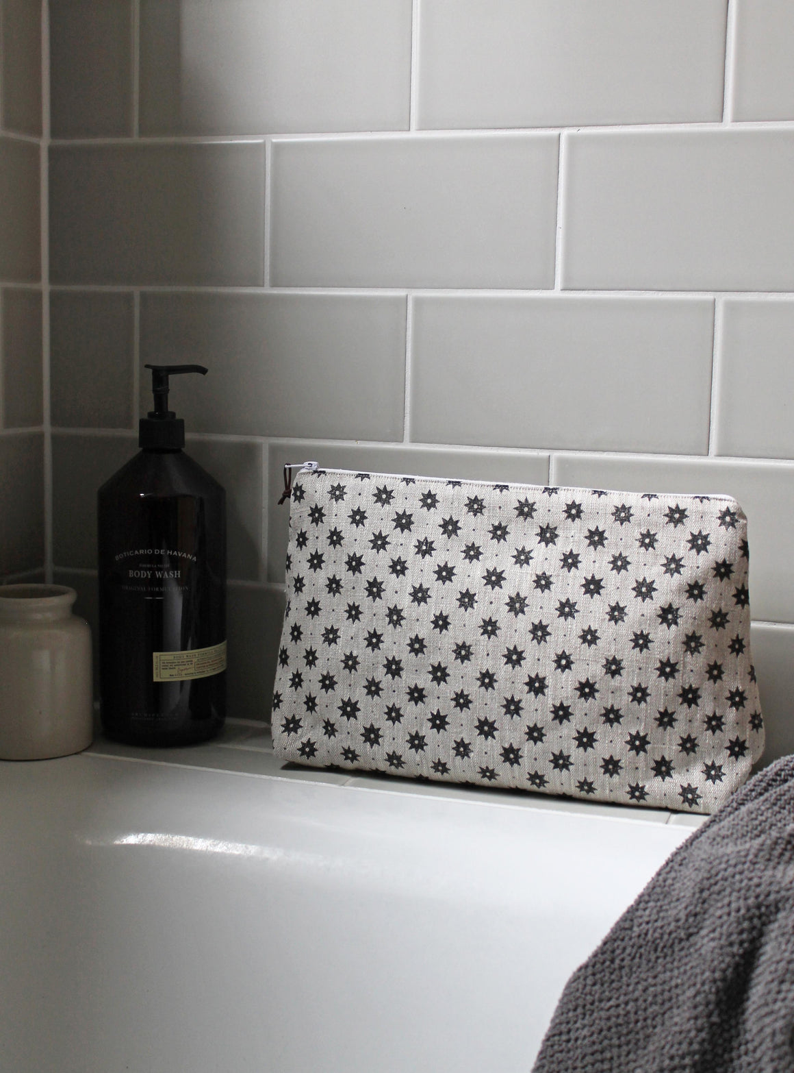 Petite Etoile Soot Washbags