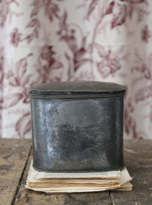 Vintage Pewter Pot