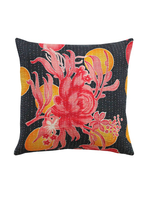 Vintage Floral Kantha Cushions Small