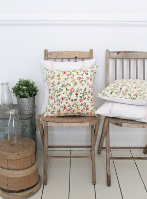 Posy Square Cushion