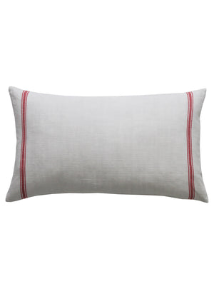 Red Stripe Long Scatter Cushion