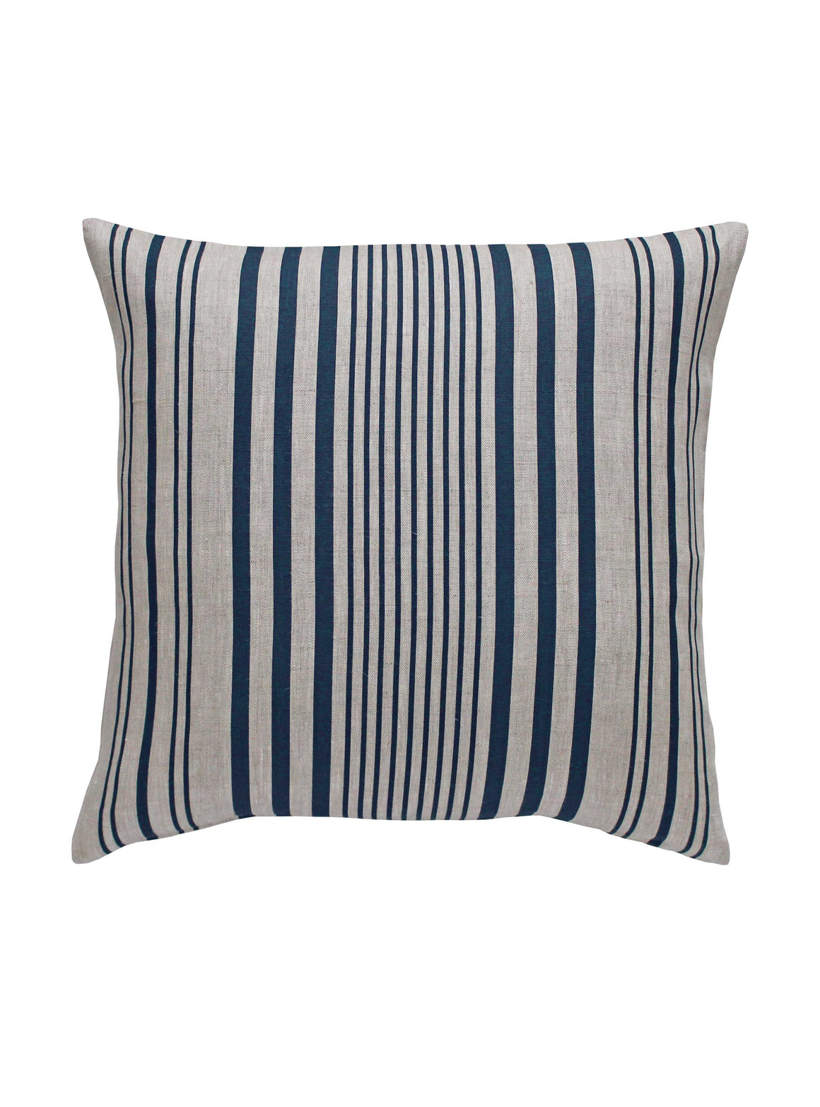 Stanley Stripe Prussian Blue Cushions