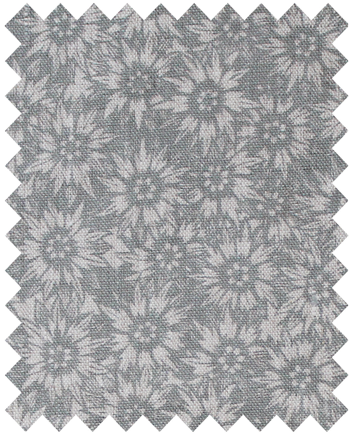 Summer Lea Manoir Grey - Natural Linen Swatch