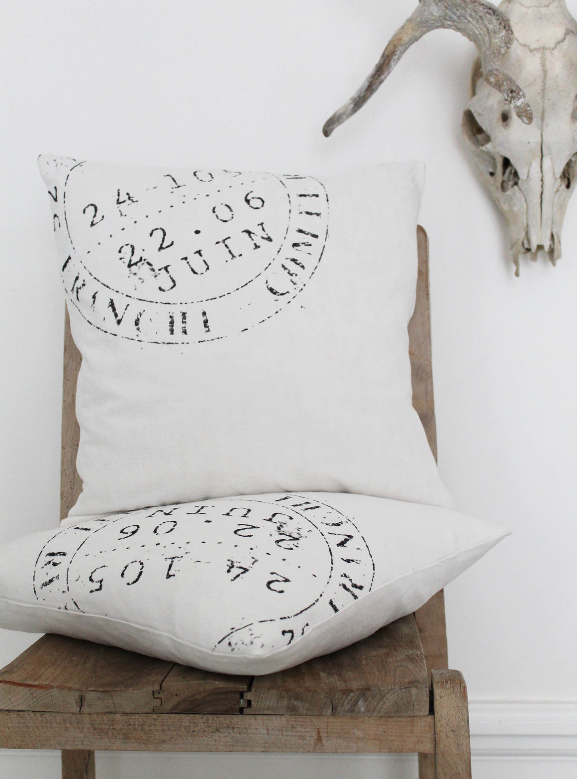 Stamp Corner Cushion
