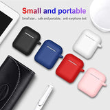 AirPods 2 and 1 Protective Silicone Cover Compatible