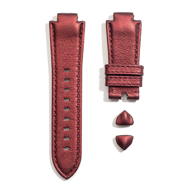 Leather Strap in Vino