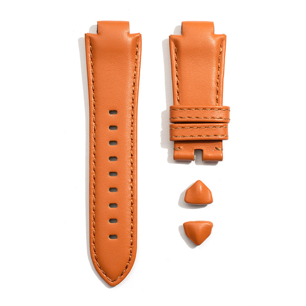 Leather Strap in Amber