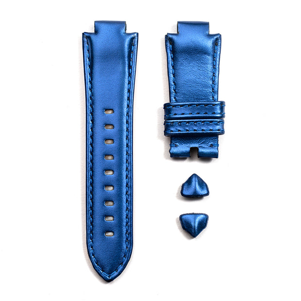 Leather Strap in Deep Sapphire