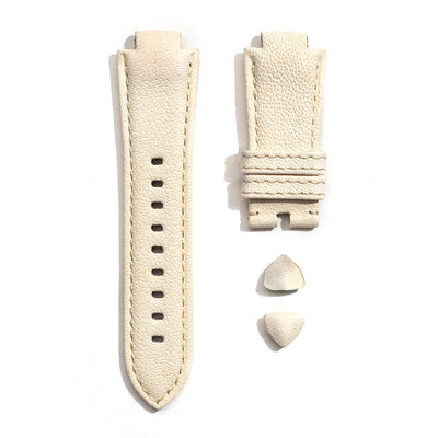Leather Strap in Ivory
