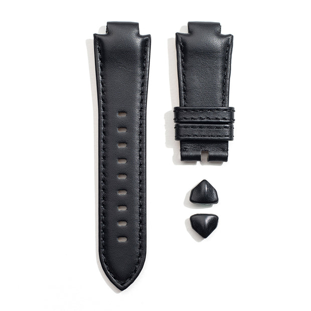 Leather Strap in Onyx