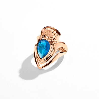 Opulent Ring in Rose Capri