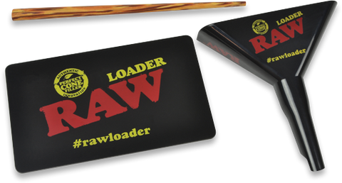 RAW 1¼ + Lean Loader