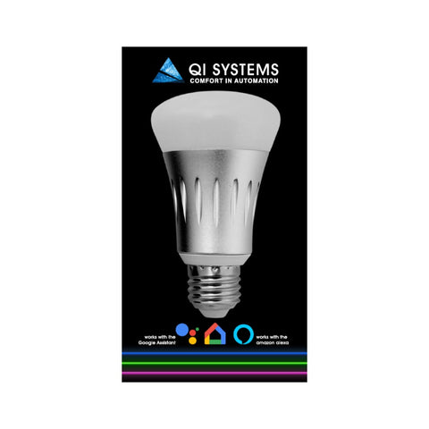 SMART WIFI BULB FULL COLOUR LIGHT DIMMABLE