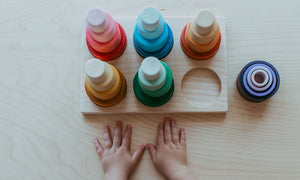*READY TO SHIP* Modplay Nesting Bowl Holder