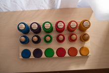 Load image into Gallery viewer, Modplay Half Set Wooden Rings, Mates and Coin Holder