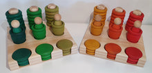Load image into Gallery viewer, Modplay Mini Set Wooden Rings, Mates and Coins Holder