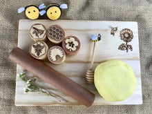Load image into Gallery viewer, Playdough Board - Bee & Sunflower