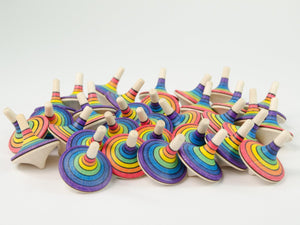 Mader Rallye Spinning Top Rainbow
