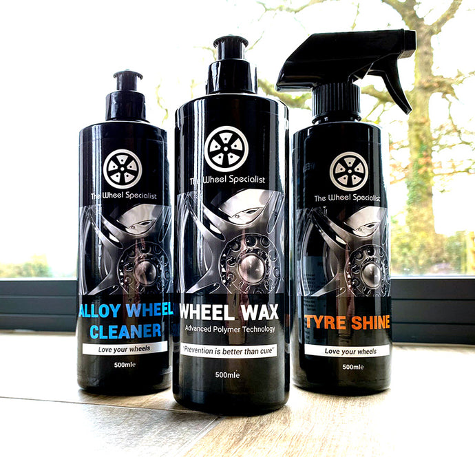 The Wheel Specialist Wheel Care Pack