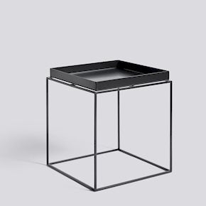 Tray Table Side Table - Str. M    - Farve: Black