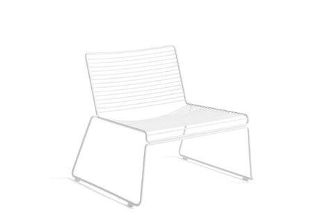 Hee Lounge stol - Farve: White