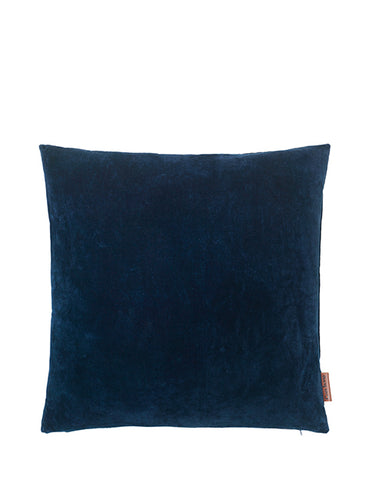 Cozy living Velour pude - Farve: Midnight
