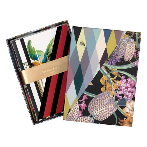 Christian Lacroix Orchid's Mascarade notecards