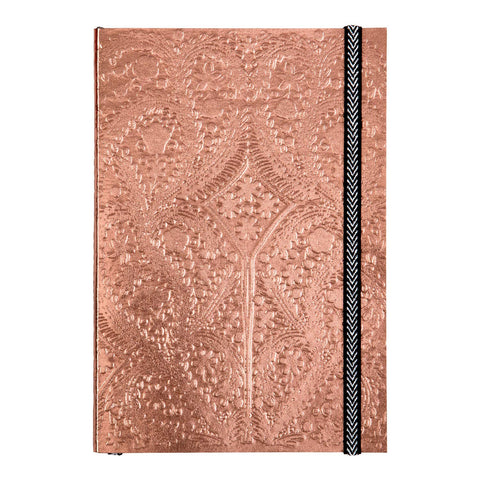 Christian Lacroix  A6 Paseo Embossed Notebook - Farve: Copper