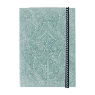 Christian Lacroix  A6 Paseo Embossed Notebook - Farve: Moon Silver