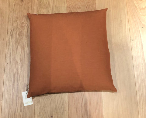 Design: Washed Linen - Rust - Str. 50*50 cm