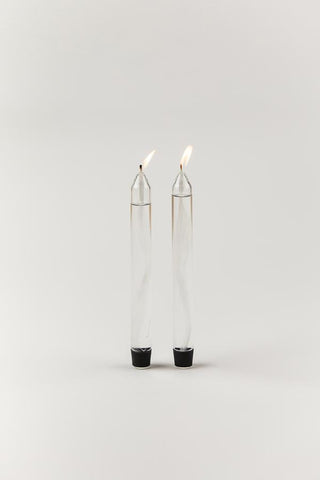 GLASS CANDLES, OIL CANDLES - Farve: Transparent