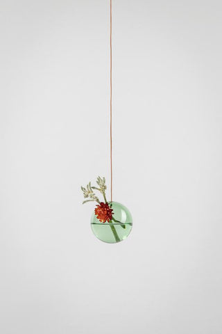 HANGING FLOWER BUBBLE, SMALL - Farve: Green