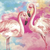 Servietter - Design: Flamingos