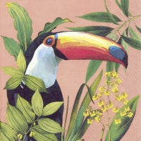 Servietter - Design: Toucan in paradise