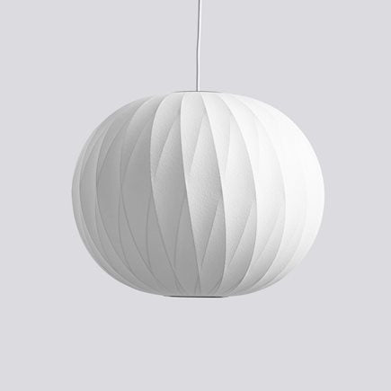 HAY  NELSON BALL CRISSCROSS BUBBLE PENDANT- Str. S  Farve: Off white