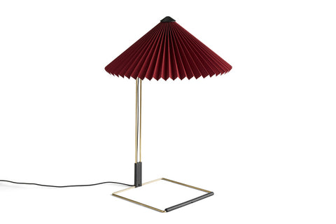 HAY  MATIN TABLE LAMP / 380  - Farve: Oxide Red