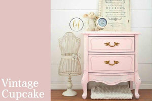 Country Chic - Vintage Cupcake